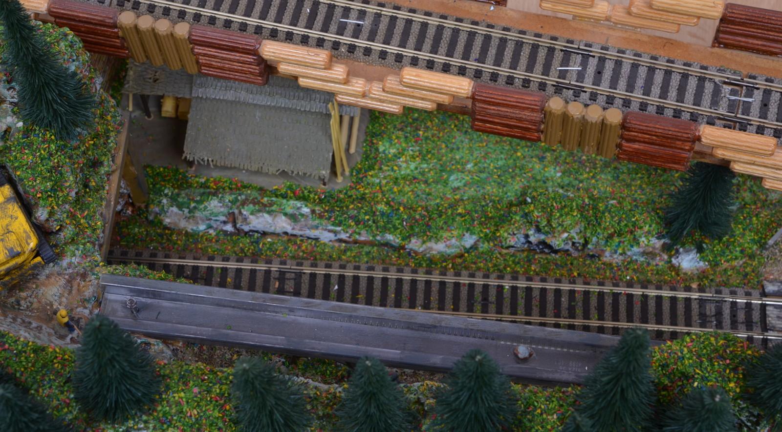 diorama mit steinbruch fleischmann profi gleisen. Black Bedroom Furniture Sets. Home Design Ideas